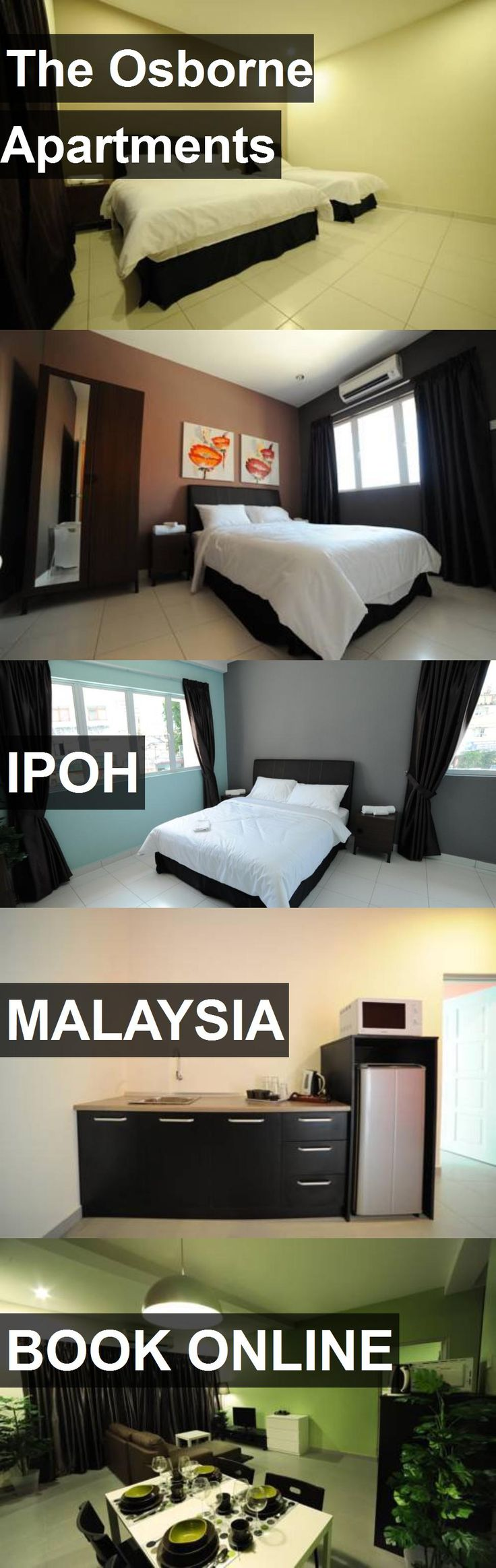 The Osborne Apartments in Ipoh, Malaysia. For more information, photos, reviews and best prices please follow the link. #Malaysia #Ipoh #travel #vacation #apartment