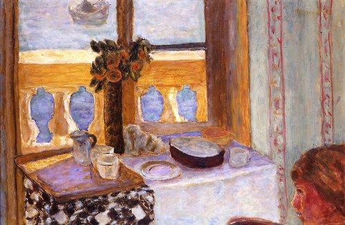 Pierre Bonnard (French, 1867-1947) - Interior to Balcony, 1918