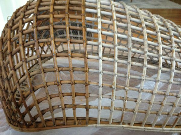 How to restore rattan furniture with linseed oil cottage for Recover wicker furniture