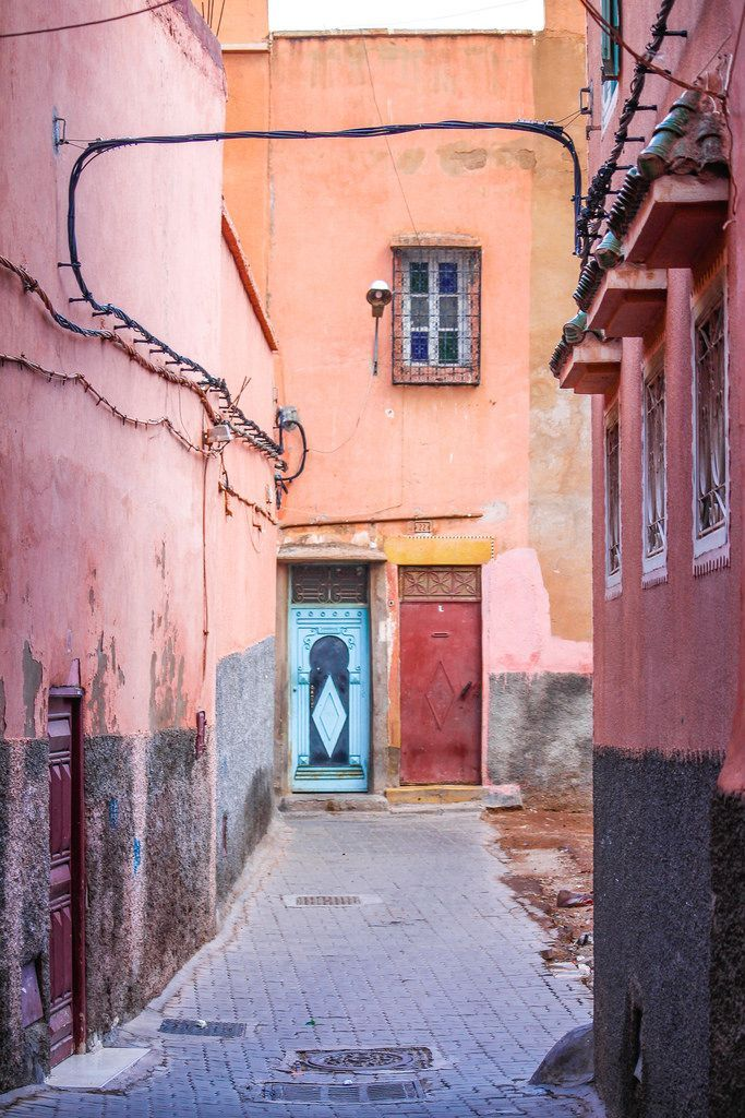 the colors of Marrakech, Morocco