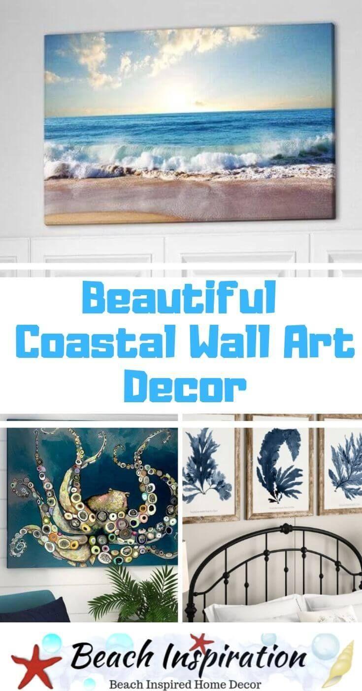 Beautiful Coastal Wall Art Decor Ideas Coastal Wall Art Wall