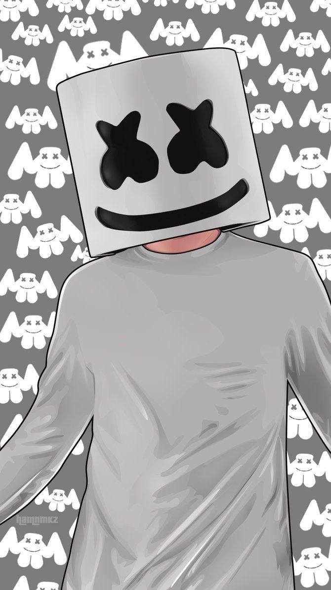 Marshmello By Hamnmkz Flash Wallpaper Dance Wallpaper Joker Iphone Wallpaper