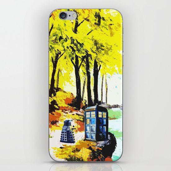 Tardis Art With Dalek - $15