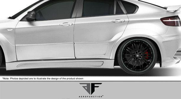 Cool BMW 2017- Cool BMW 2017: 2008-2014 BMW X6 X6M AF-3 Wide Body Rear Door Caps ( GFK ) - 2 Pi...  Cars 2017