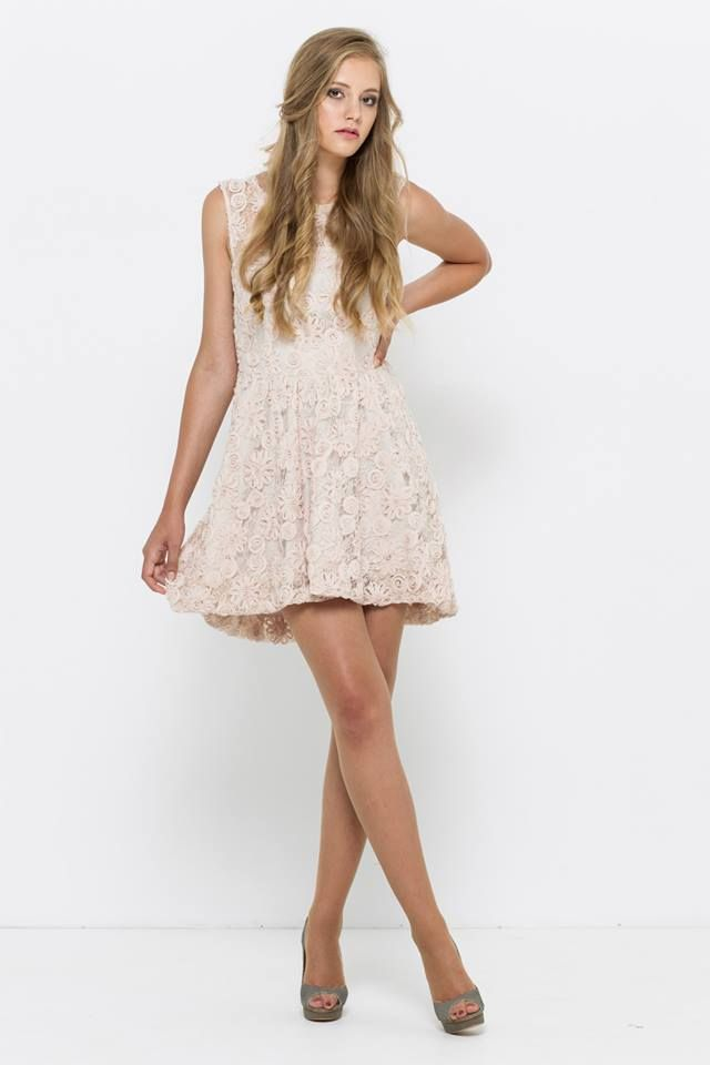 koronkowa, żakardowa sukienka VISSAVI