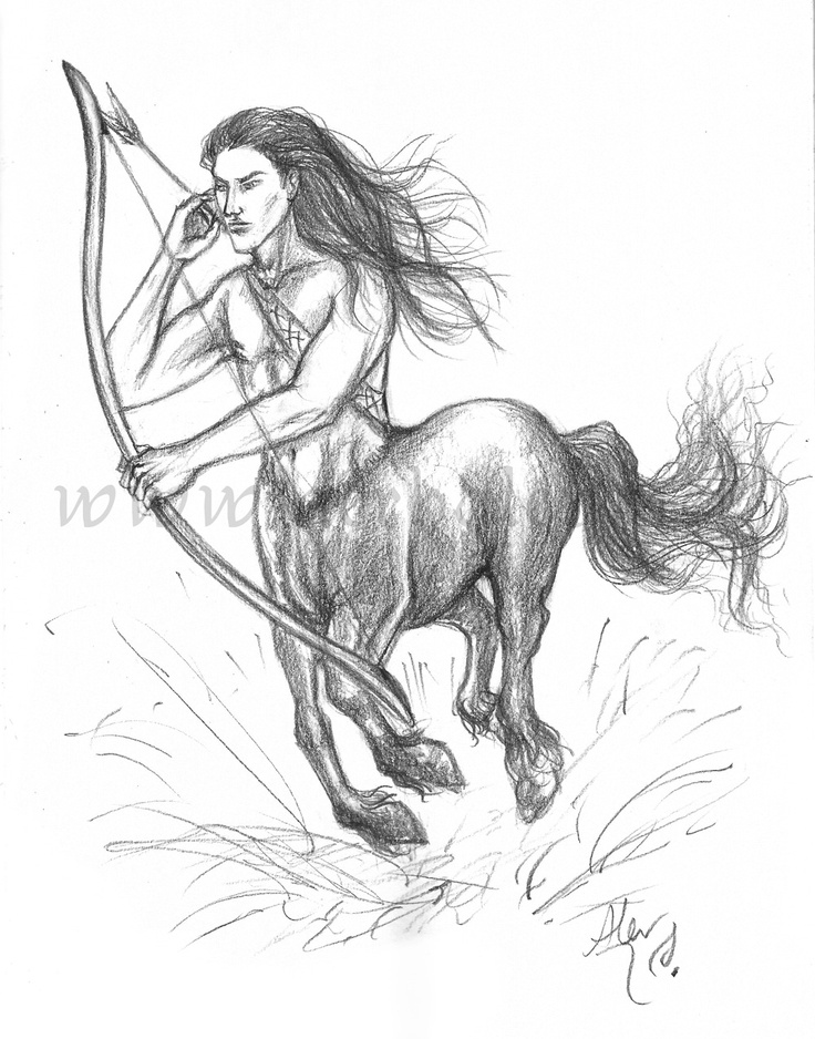 The leader of the Centaurs