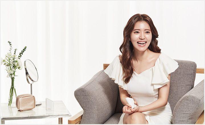 메이크온, '워킹맘 정시아, 빛으로 테라피하다' 광고 영상 공개