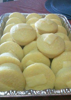 oven baked puto (Filipino rice cake) http://kusinanijaemi.blogspot.com/2012/12/oven-baked-puto.html