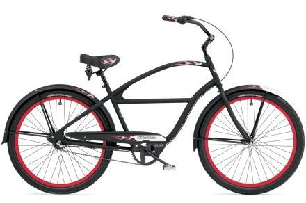 If you are a man and you want to have a beautiful day at the beach, bring a beach cruiser bike with you.