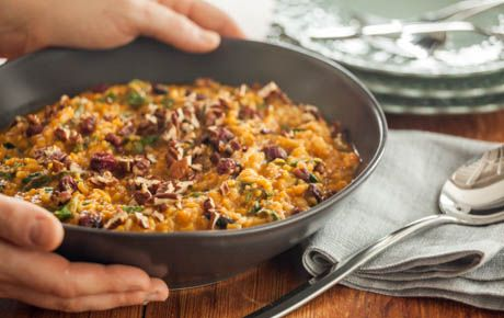 """Thanksgiving """"Risotto"""" Recipe Thanksgiving Meal, Risotto and"""