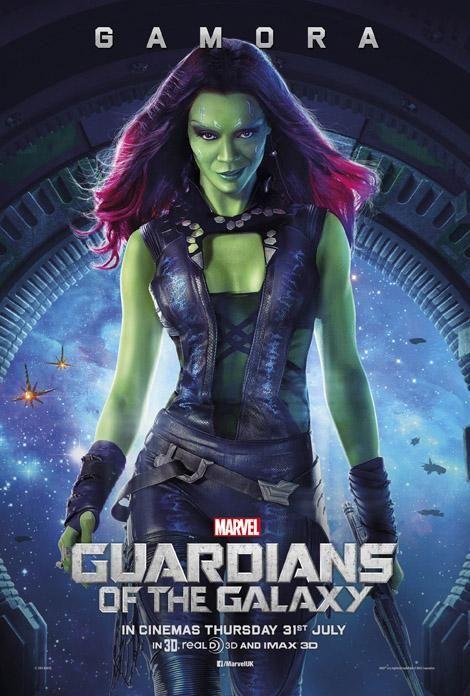 I Guardiani della Galassia rilascia altri tre poster dei personaggi - Cinema World Italia