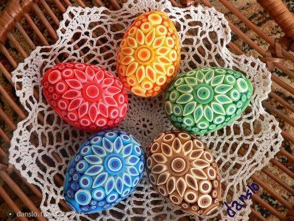 Vajíčka * quilling