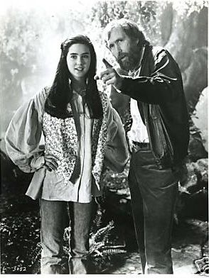 Jim Henson directing Jennifer Connelly for Labyrinth. I can't wait for the 30th anniversary edition in 2016