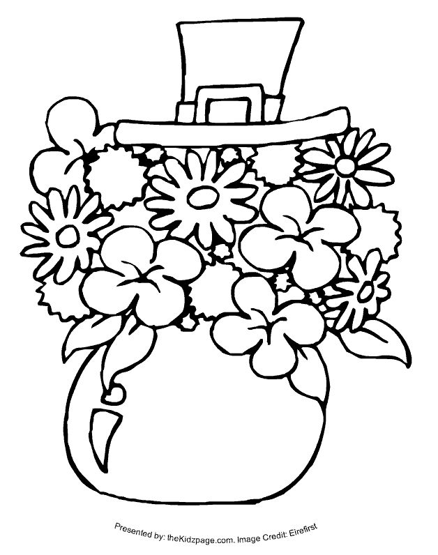 coloring pages st patrics day - photo#18
