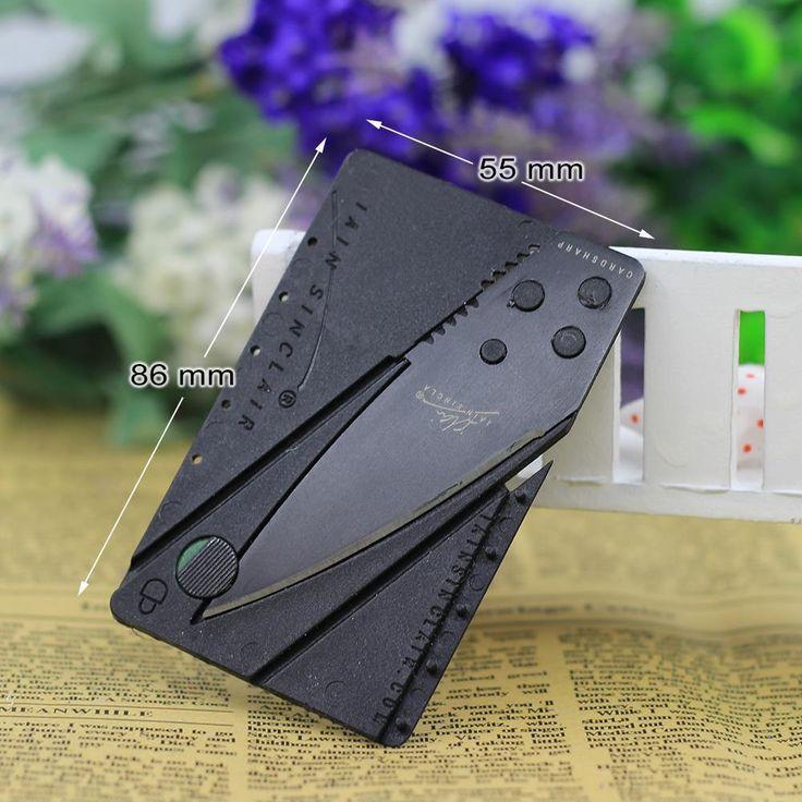 Credit Card Folding Utility Knife