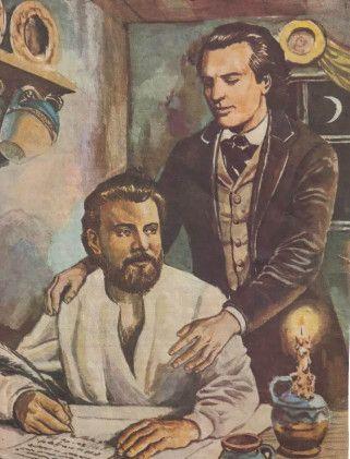 Ion Creanga si Mihai Eminescu