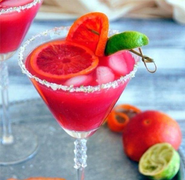 Blood orange margarita, Blood orange and Margaritas on Pinterest
