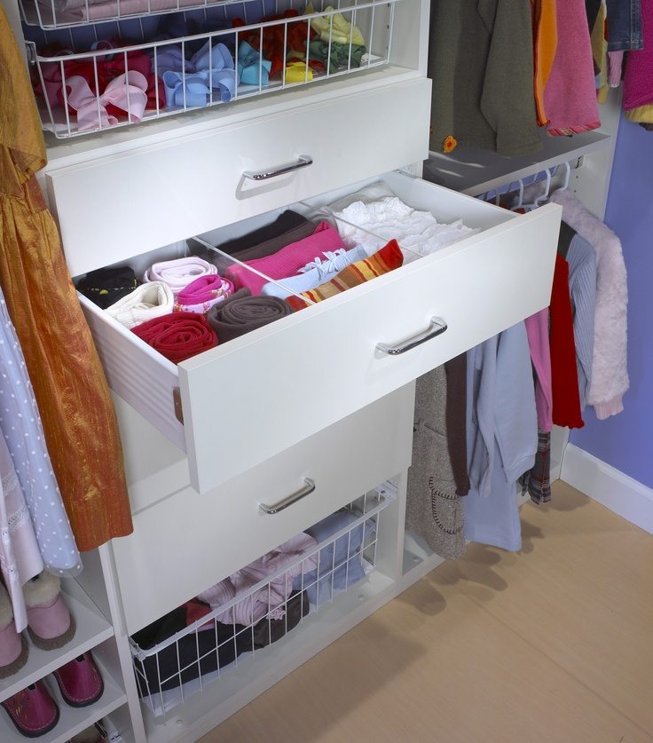 Saint Louis Closet Co. Drawer Dividers Help Keep Even The Messiest Drawer  Organized.