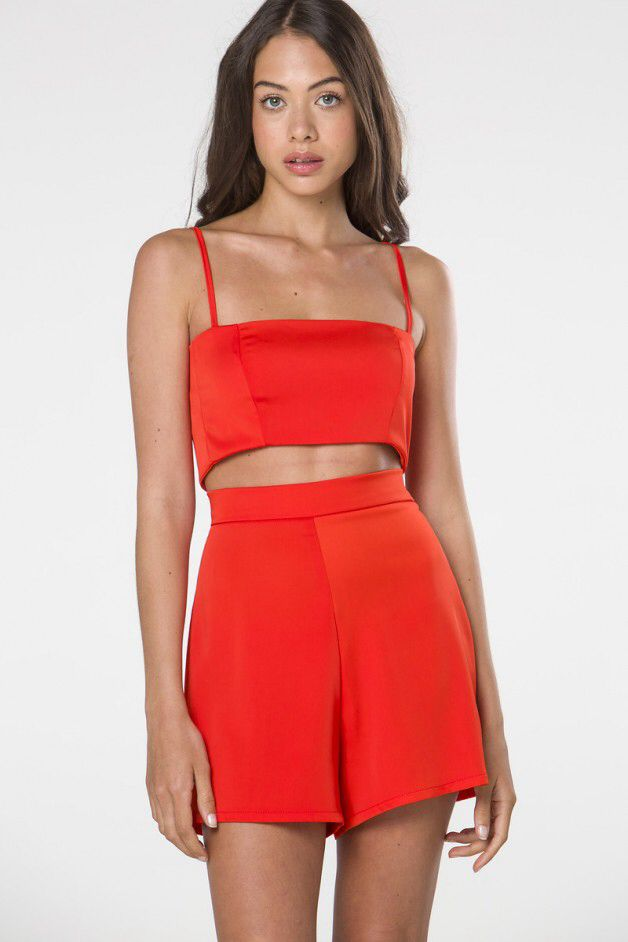 DARK PINK Orange band bralet