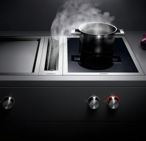 Muldenlüftung oder Kochfeldabzug - K O C H D U N S T