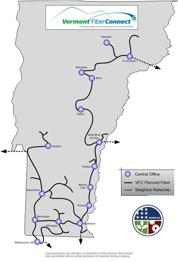 Vermont FiberConnect Public Map
