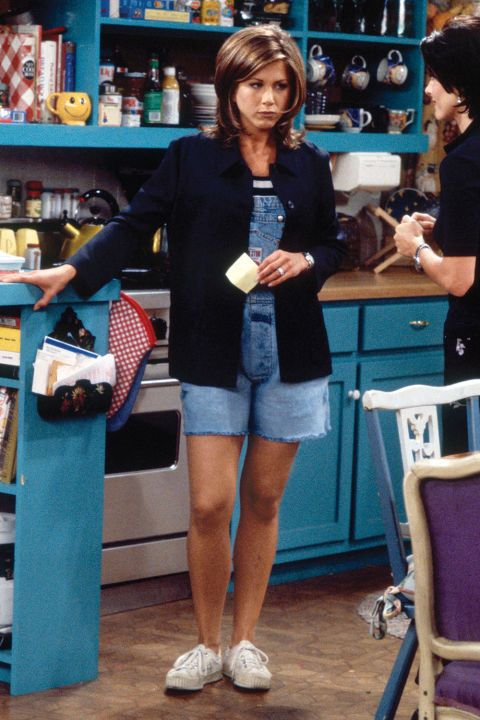 """34 Rachel Green Fashion Moments You Forgot You Were Obsessed With on """"Friends"""""""