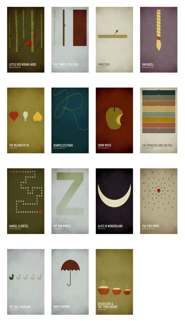Minimalist children 39 s book posters book posters poster for Minimal art book