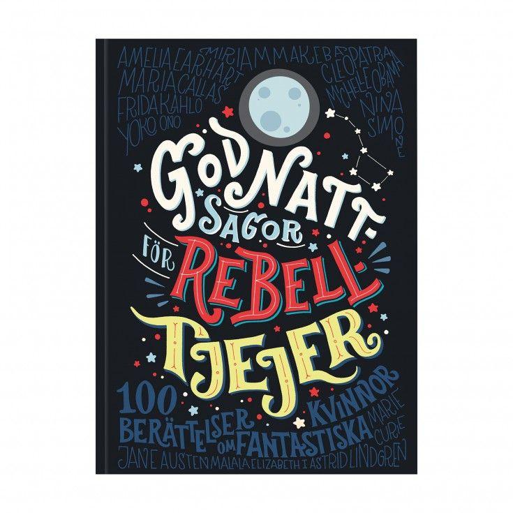 Bok Godnattsagor för rebelltjejer