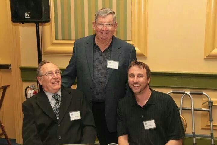 Buzzie and David Reutimann with Donnie Allison.