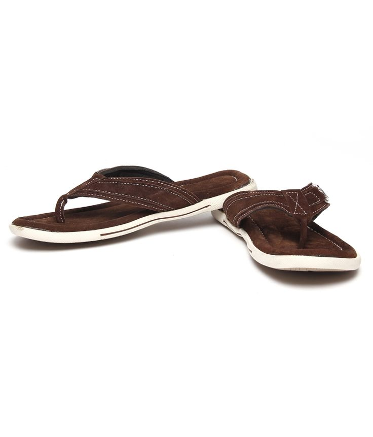 Bacca Bucci Voguish Brown Slippers  SELLING PRICE Rs 699 visit us now :- http://goo.gl/4MCslI
