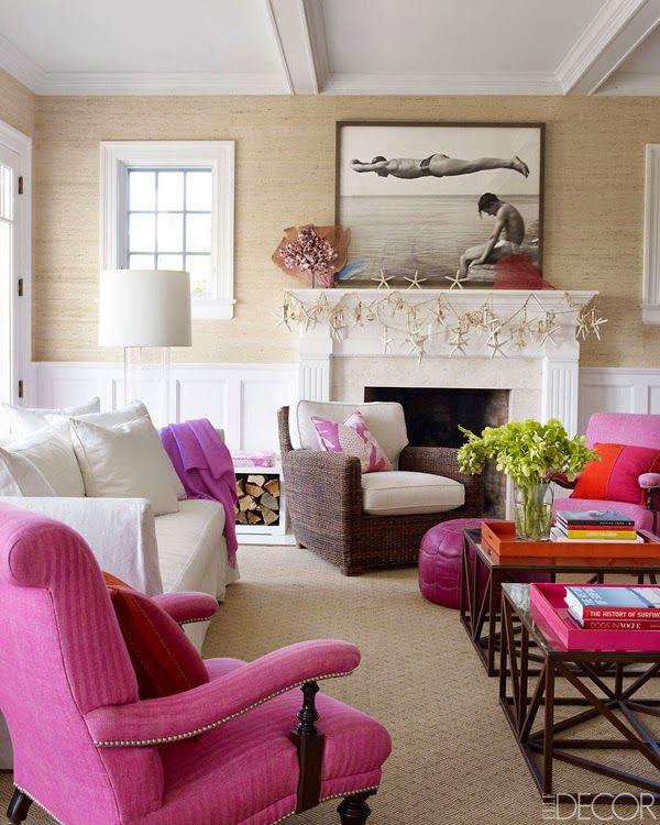 Jurnal de design interior - Amenajări interioare : În casa de vacanță din Hamptons a scriitoarei Holly Peterson