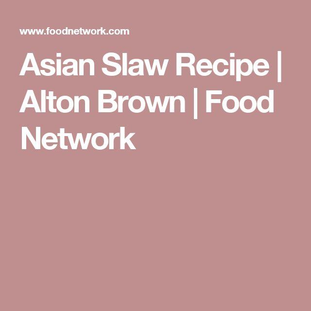 Asian slaw recipe asian slaw slaw recipes and recipes asian slaw recipe alton brown food network forumfinder Choice Image