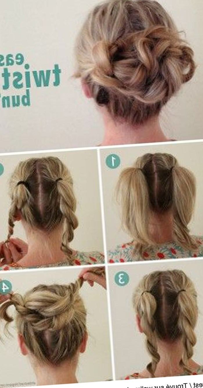 1000 Ideas About Coiffure Facile A Faire On Pinterest Easy