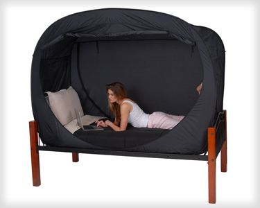 Privacy Pop Bed Tent - Perfect for a shared dorm room - PrivacyPop.com