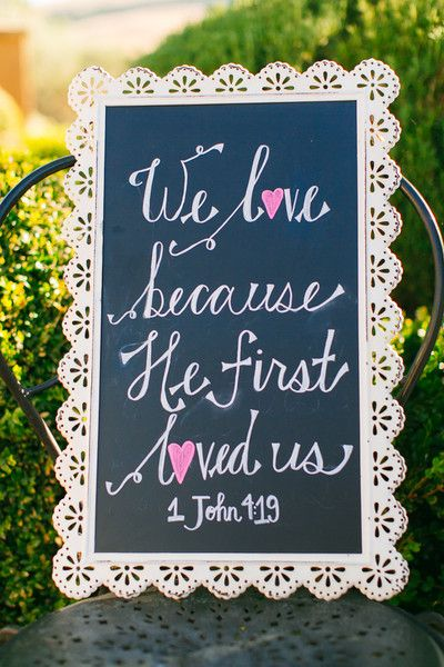 """We love because He first loved us"" 1 John 4:19 {Junshien International Photographers}"
