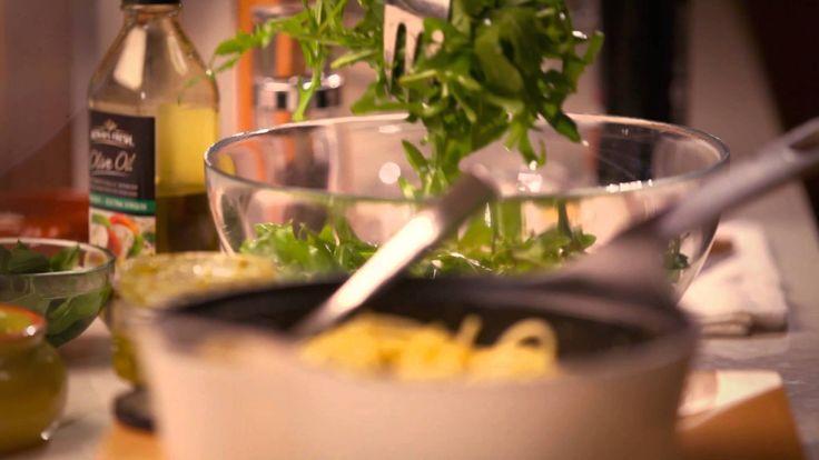 Basil & Parmesan Spaghetti