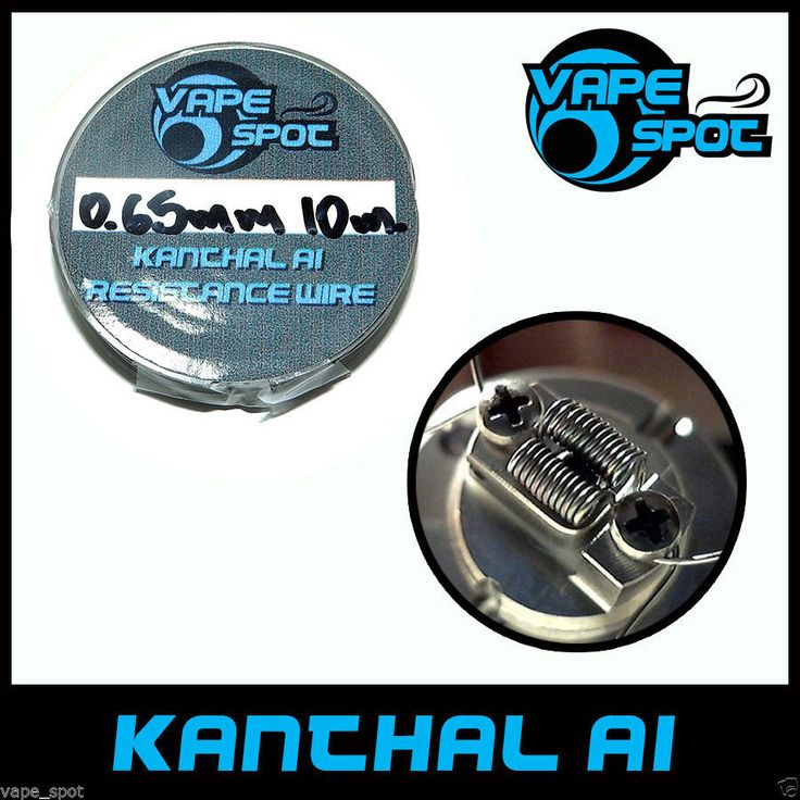KANTHAL A1 0.65mm / 0.0255''/ AWG 22 , Resistance Heating Wire SPOOL 10m./32.8ft