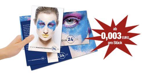 Flyer drucken ist bei der Onlinedruckerei wagnermedia24.de ganz einfach