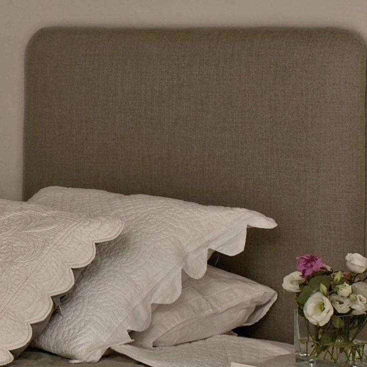 Cabecero cama de tela