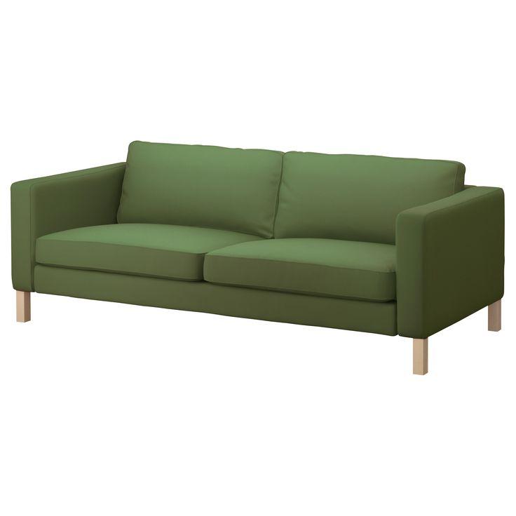 karlstad 3er sofa sivik gr n ikea die alte m nz pinterest sofa ikea und beige sofa. Black Bedroom Furniture Sets. Home Design Ideas