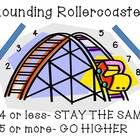 A visual to teach students rounding rules:4 or less- STAY THE SAME5 or more- GO HIGHERA companion chart for my Rounding Memory Match Gamehttp:...