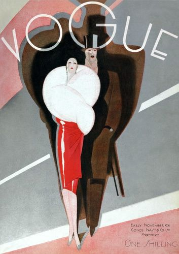 Vogue, Early November 1926 by Guillermo Bolin - art print from King & McGaw