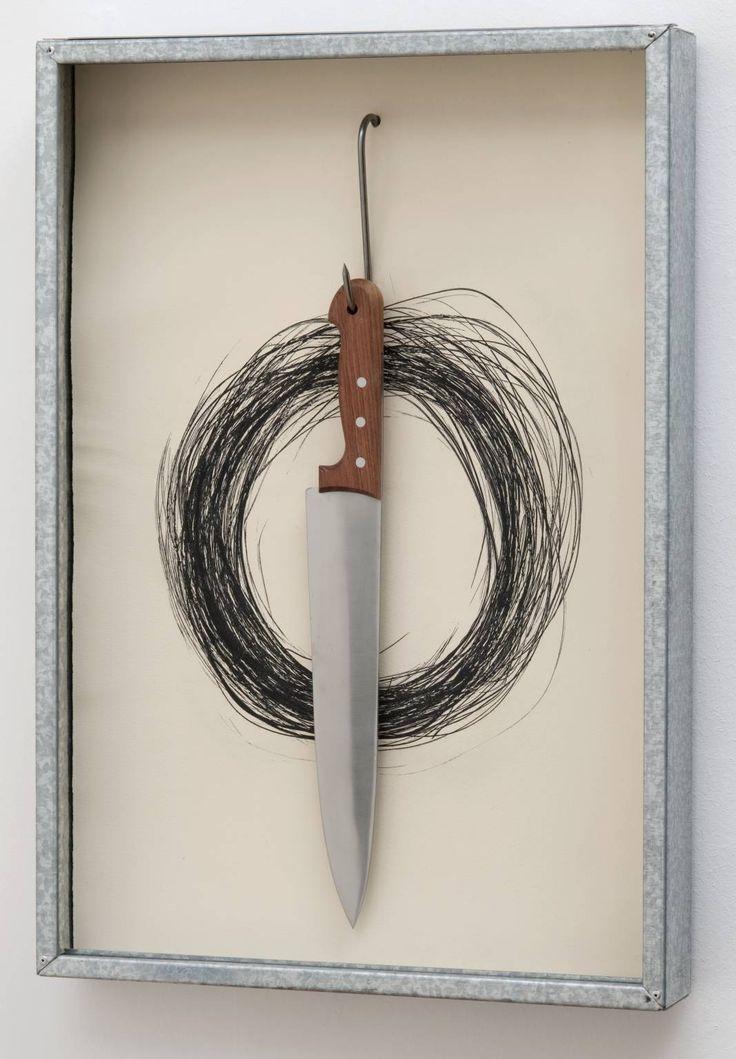 Jannis Kounellis / Untitled / 1991 /  Art Experience NYC  www.artexperiencenyc.com