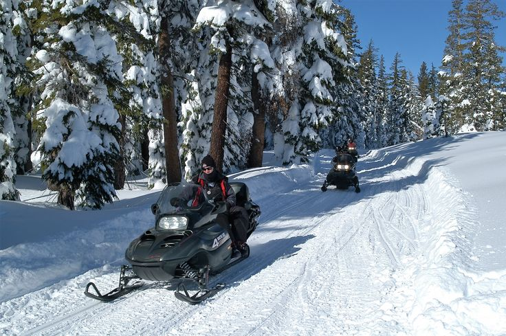 Snowmobile Tour Overview - Lake Tahoe and Nevada Adventures