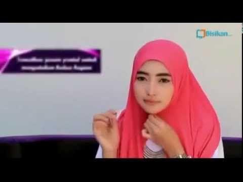 Kreasi Jilbab Pashmina untuk Wajah Bulat Terbaru