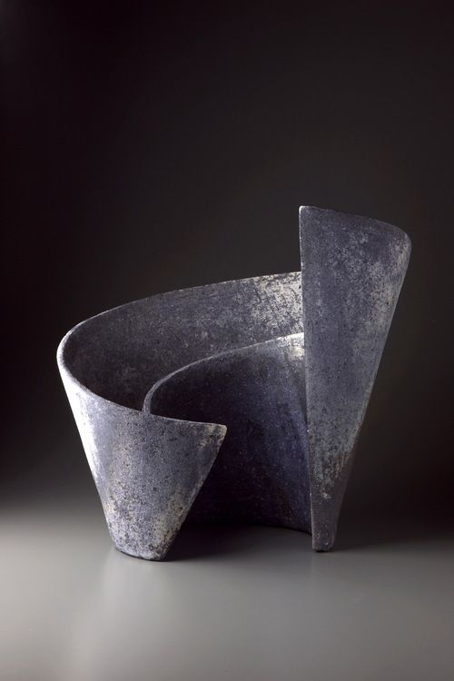 eccentrickollector: Ken Mihara, Kei (Mindscape) #1,  Multi-fired stoneware, 43x31.5x41 cm.  Photo by Tsunehiro Kobayashi