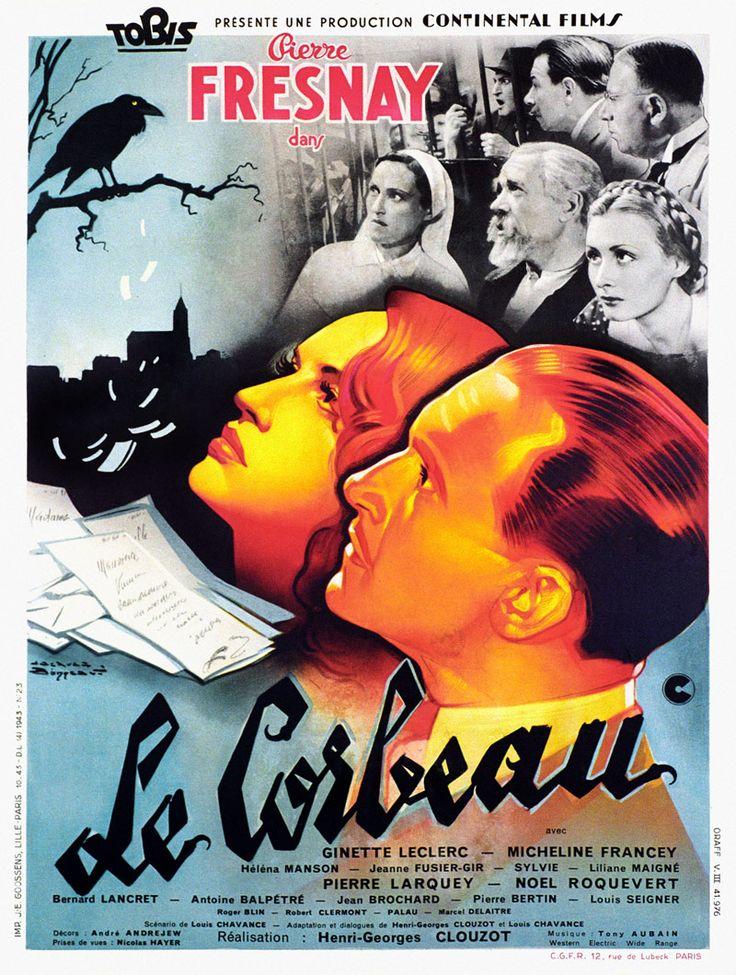 """Jacques Bonneaud - """"Le Corbeau"""", 1943, Henri-Georges Clouzot."""