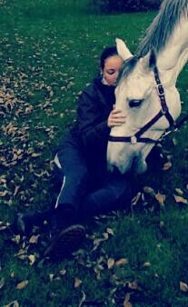 This is me and my horse