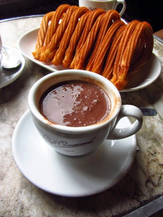 ... churros spanish food expressed chief party forward madrid churros con