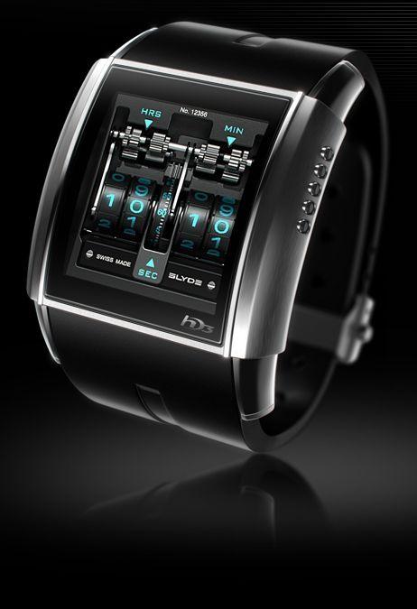 HD3 Slyde - o relógio digital mais legal que você podia esperar próprio.
